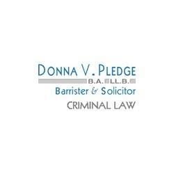 Donna V Pledge – Criminal Lawyer