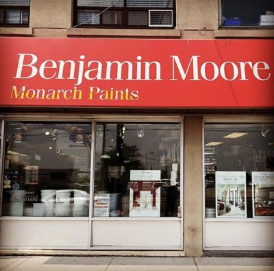 Benjamin Moore Monarch Paints