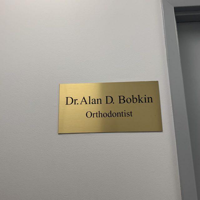 Dr. Alan Bobkin — Orthodontic