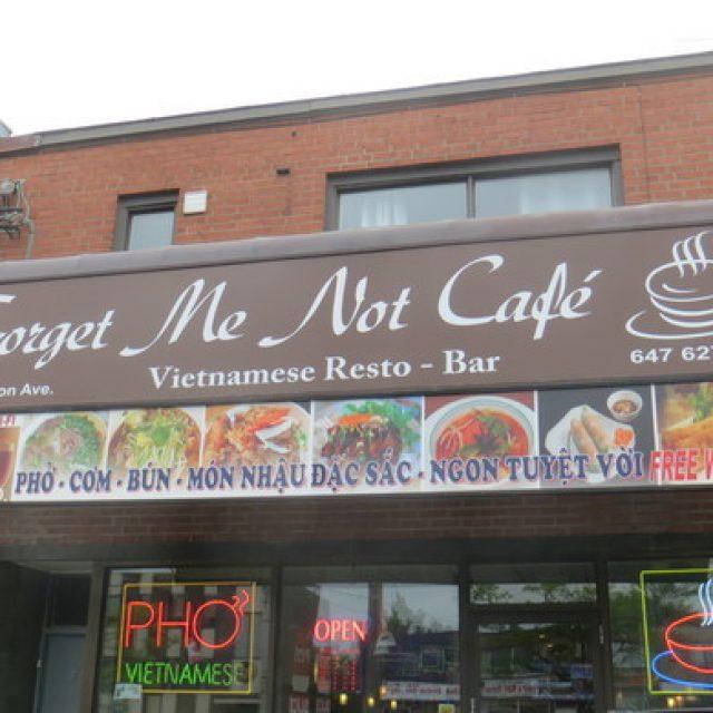 Forget Me Not Café