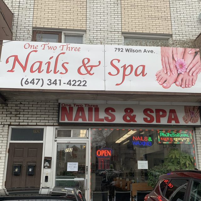 One Two Three Nails & Spa