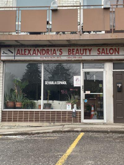 Alexandria's Beauty Salon