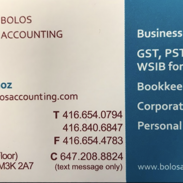 Bolos Accounting