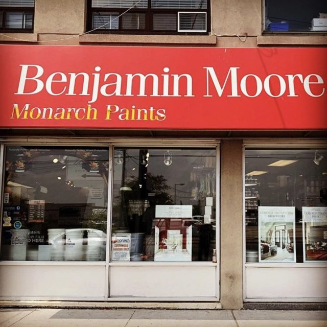 Benjamin Moore Monarch Paints