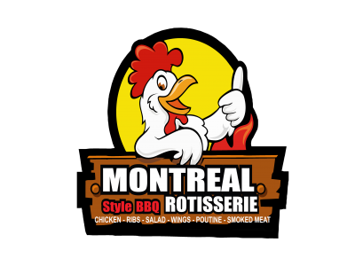 Montreal Style BBQ Rotisserie